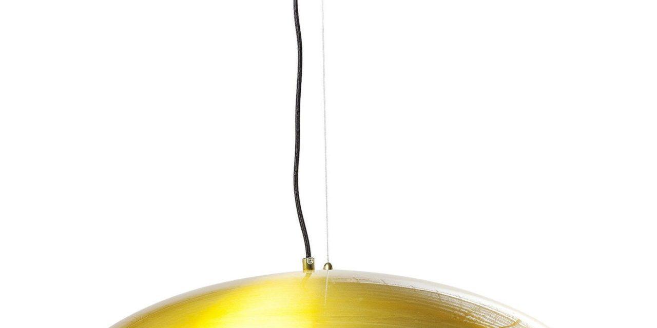 Lakeret Aluminium Champignon guld loftslampe fra Kare Design til dit hjem