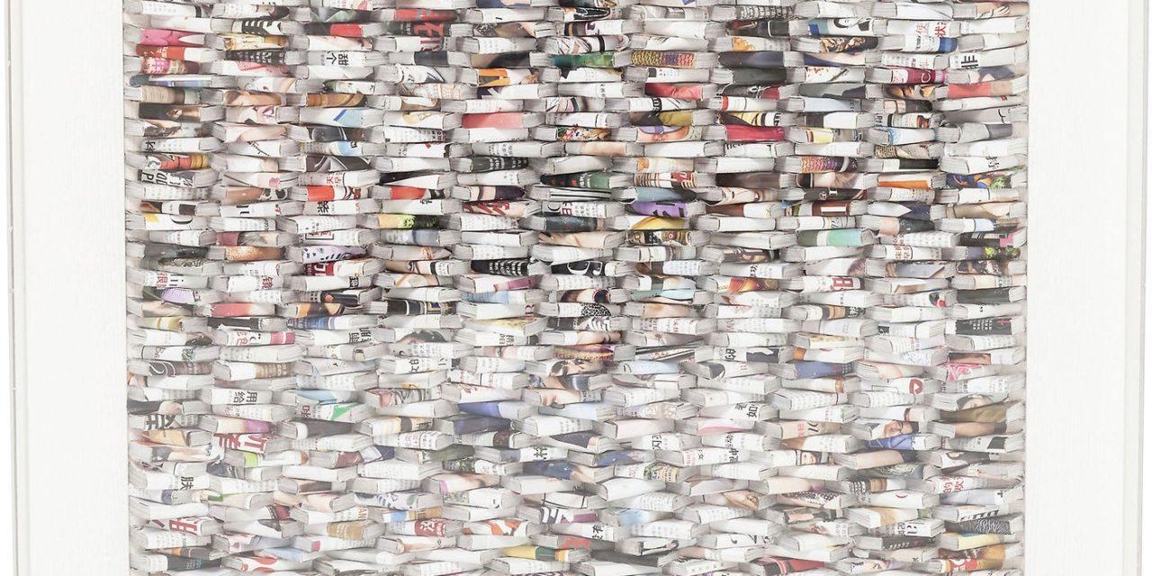 Dekoration Frame Paper Art 90 x 90 cm
