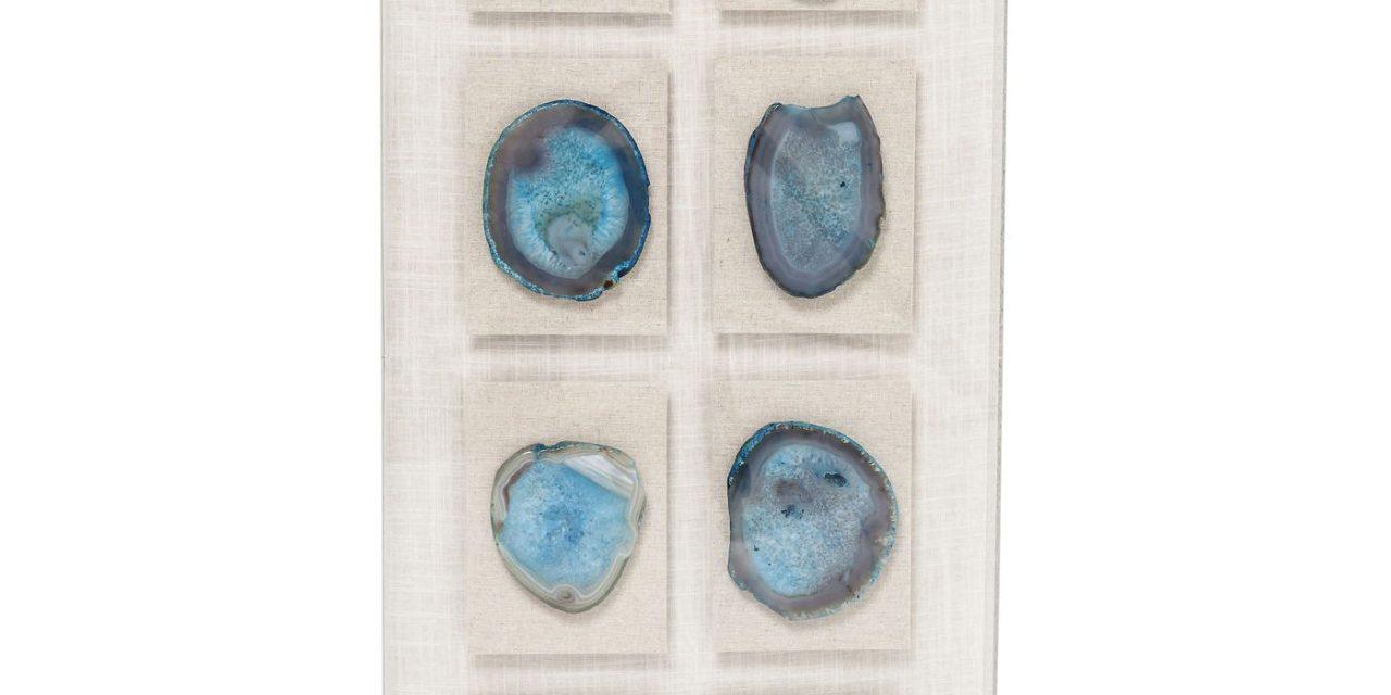 Dekoration Frame Achat Collection Light Blue 90 x 40 cm
