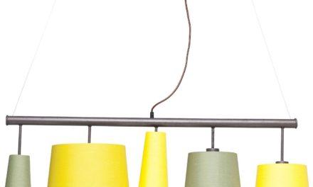 Loftslampe Parecchi Lime 100 cm