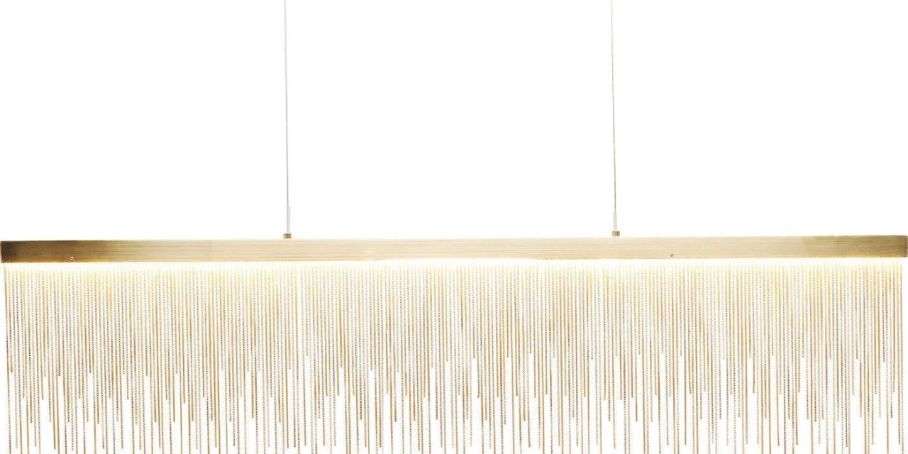 Loftslampe Vezzo Brass LED