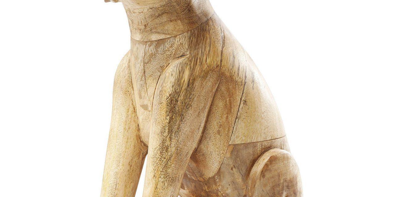 Dekoration Figur Struppi Sitting