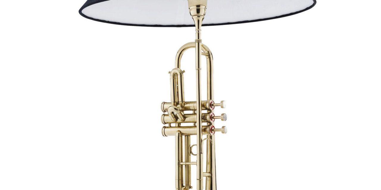 Bordlampe Trumpet Jazz Guld
