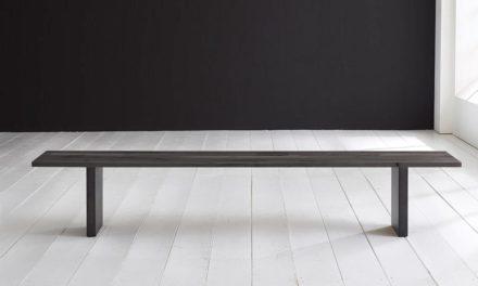 Concept 4 You Spisebordsbænk – T-Ben 260 x 40 cm 3 cm 07 = mocca black