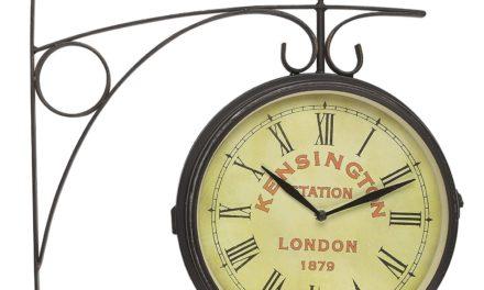 Metal Old London Station vægur fra Kare Design til din bolig