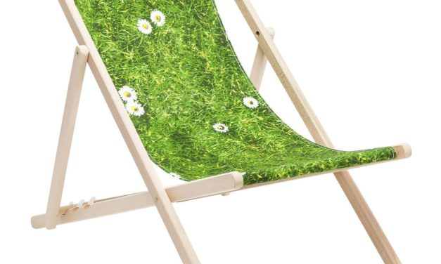 KARE DESIGN Liggestol – Grøn Eng