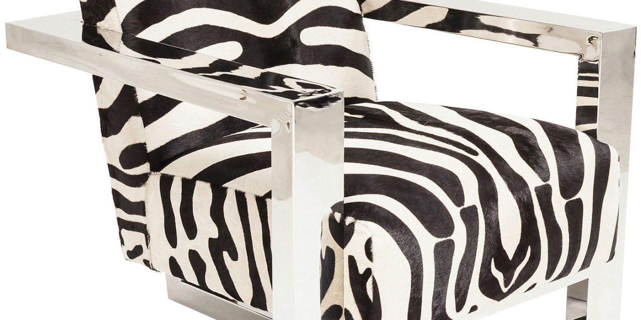 Lænestol Sessel Wildlife Zebra