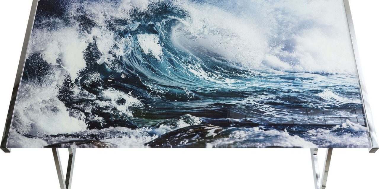 Skrivebord Mundi Wave 120 x 70 cm