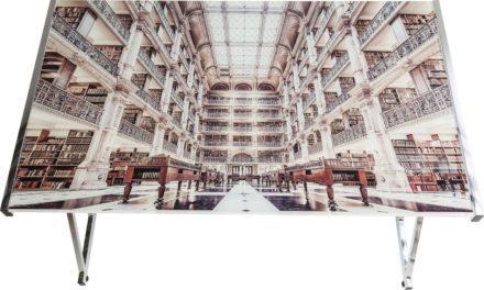Skrivebord Mundi Library 120 x 70 cm
