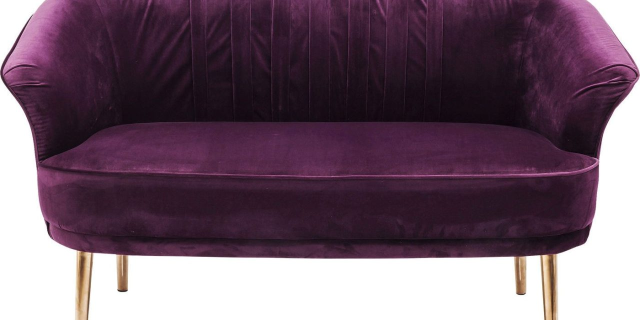 Sofa Purple Rain 2 personers