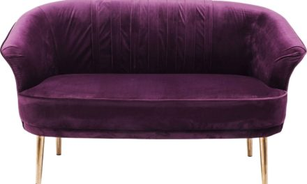 Sofa Purple Rain 2 personers
