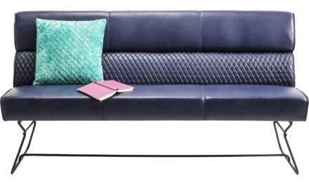 Sofabænk med ryglæn Melange 160 cm