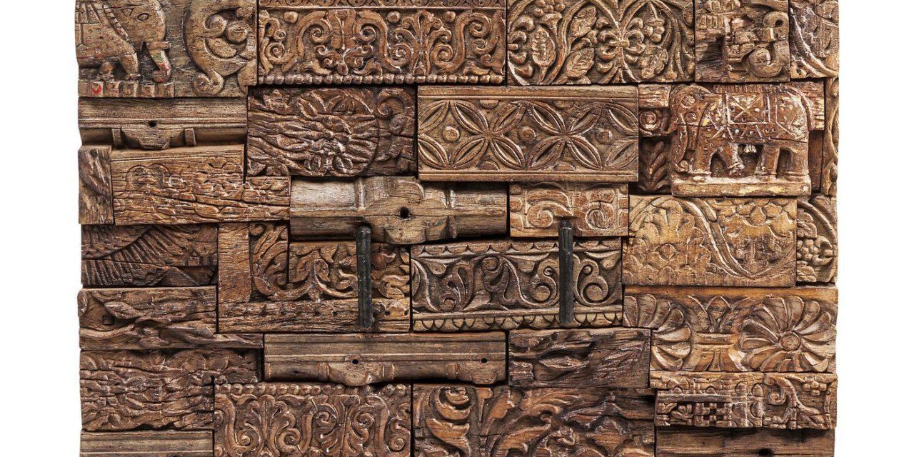 KARE DESIGN Skænk, Shanti Surprise Puzzle Natur 2 Døre