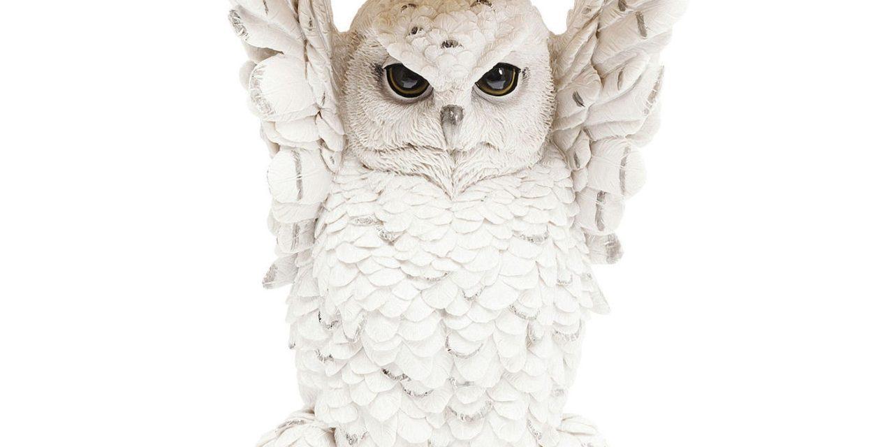 KARE DESIGN sidebord Animal Owl Ø35 cm