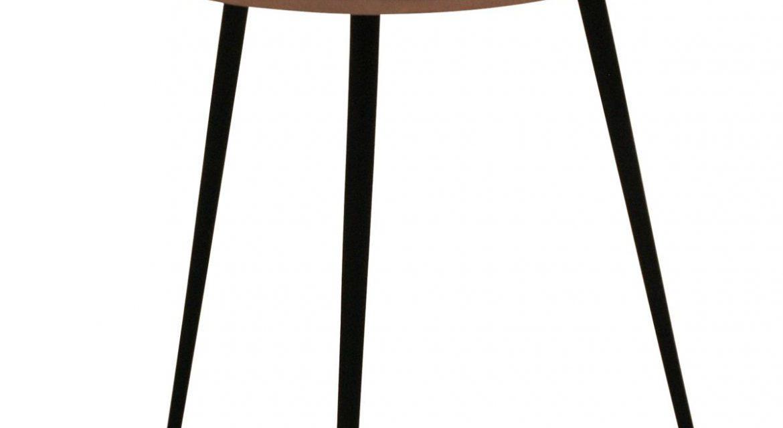 CANETT Needle sidebord – Kobber Ø50 cm