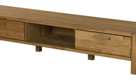 RIVA TV-bord med 2 skuffer, Natur