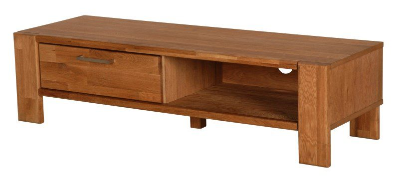 RIVA TV-bord med 1 skuffe, Natur