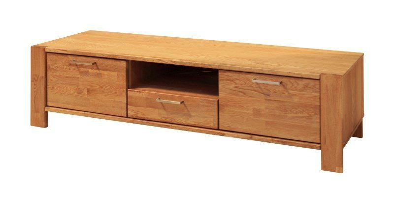 RIVA TV-bord med 2 låger og 1 skuffe, Natur