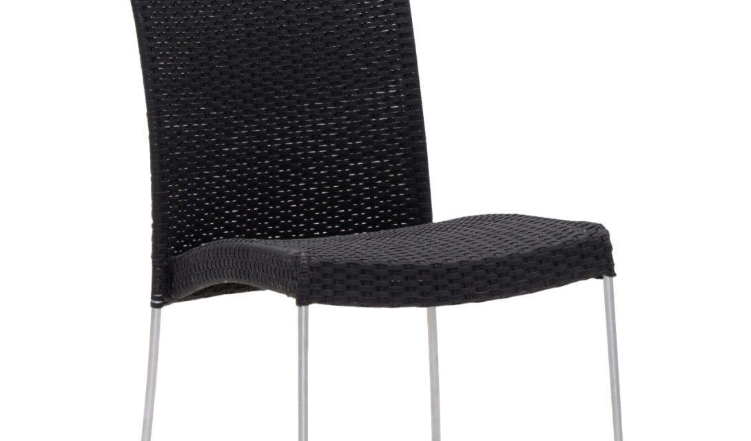 SIKA DESIGN Saturn stol – u/armlæn – Sort