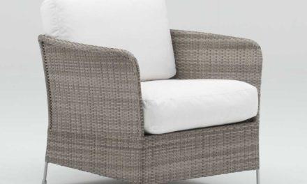 SIKA DESIGN Orion loungestol inkl. hynde – Teak grå