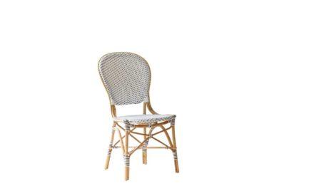 SIKA DESIGN Isabell stol u/armlæn – Hvid