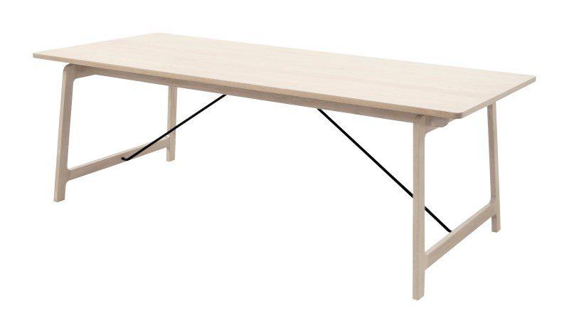 EIK spisebord – træ, m. udtræk