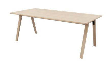 MISO spisebord – egetræ, m. udtræk (200×100)