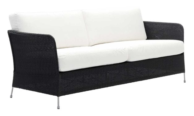 SIKA DESIGN Orion 3 pers. havesofa inkl. hynder – sort