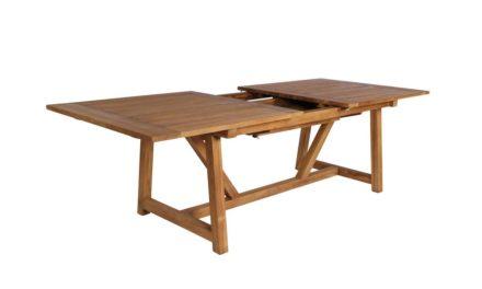SIKA DESIGN George spisebord m. udtræk (200×100) (280)