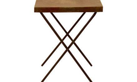SJÄLSÖ NORDIC Træbord med metalplade