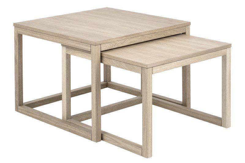 Cornus sofabordssæt – egetræ (sæt à 2 stk)