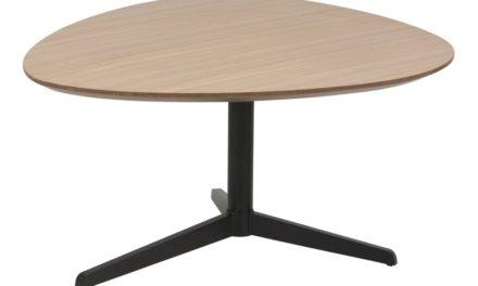 Barnsley sofabord – egetræsfinér/metal