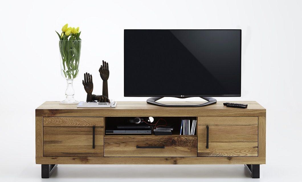 BODAHL Nature TV-bord – Olieret eg, m. 2 låger, 1 skuffe og 1 rum