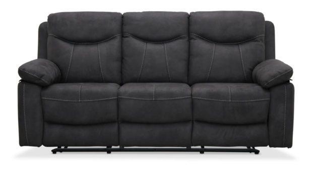 Boston recliner biograf sofa i mikrostof fra Haga Gruppen til dit hjem