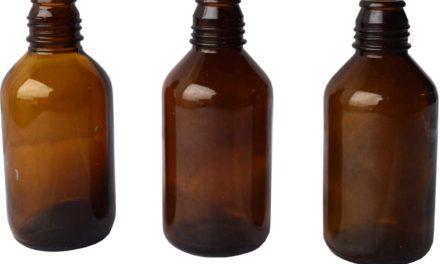 TRADEMARK LIVING Gamle industri glasflasker – Small