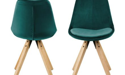 Dima spisebordsstol, Grøn Velour