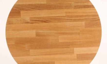 FURBO Spisebord, 100 x 60 cm. Olieret eg