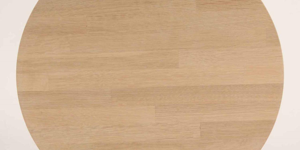 FURBO Spisebord, 100 x 60 cm. Sæbe eg