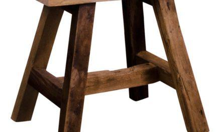 HOUSE NORDIC Barcelona Teak bænk i teaktræ 50x25xh45 cm