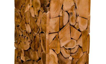 HOUSE NORDIC Mosaic Teak taburet i teaktræ