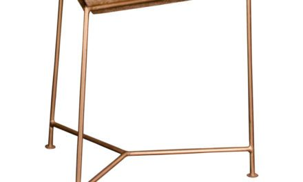 HOUSE NORDIC Raipur hjørnebord – Trekantet i neutralt mangotræ