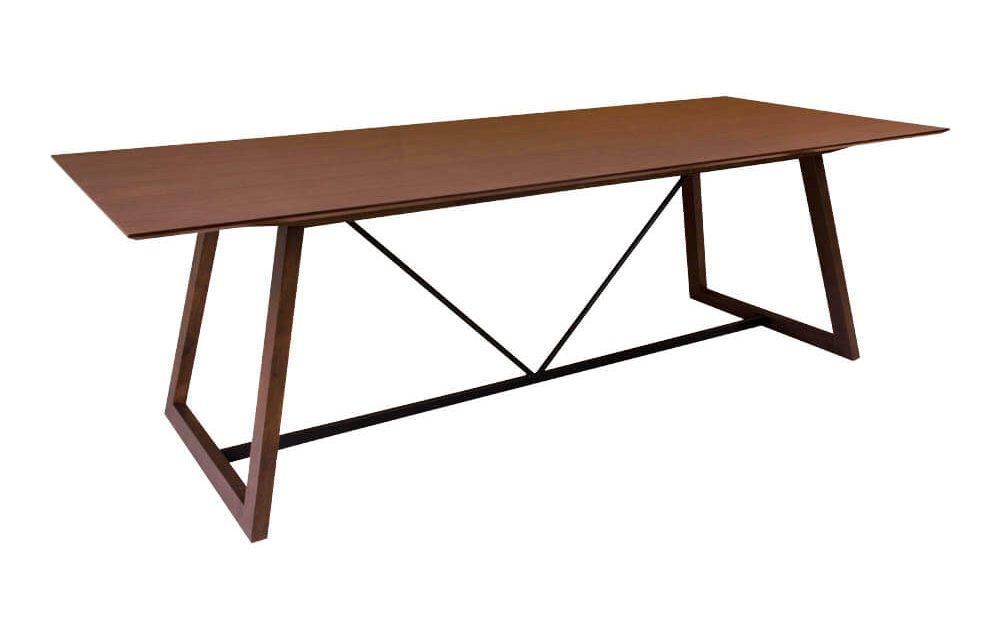 HOUSE NORDIC Hellerup spisebord i valnød finér