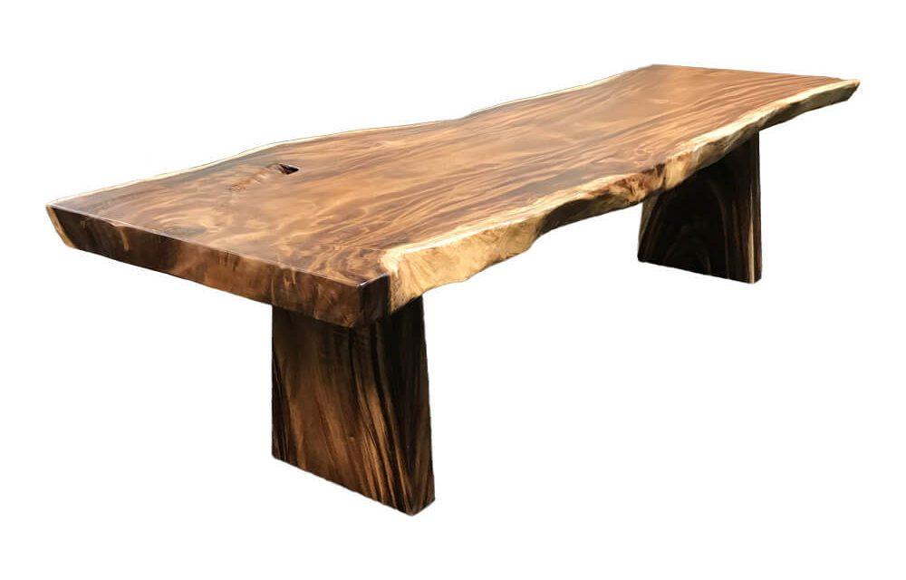 HOUSE NORDIC Bali spisebord – Massivt bord i Suar træ