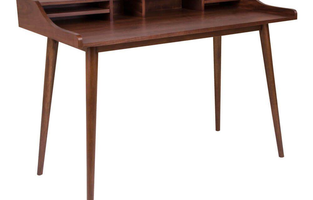 HOUSE NORDIC Hellerup skrivebord i valnøddefinér