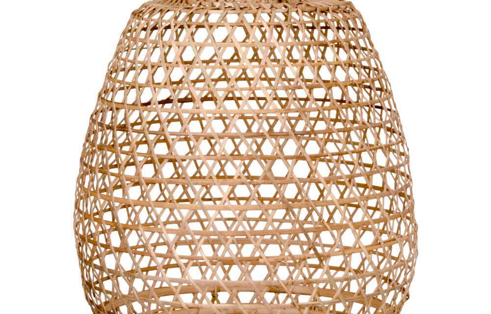 HOUSE NORDIC Lissabon Rattan lampe – Hængelampe i rattan