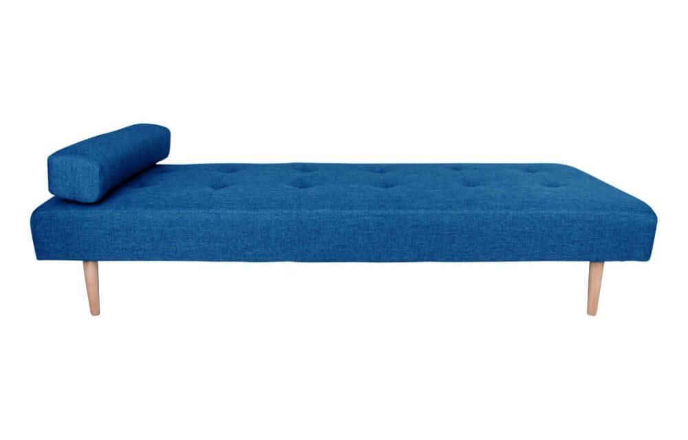 HOUSE NORDIC Capri daybed i blå med træben