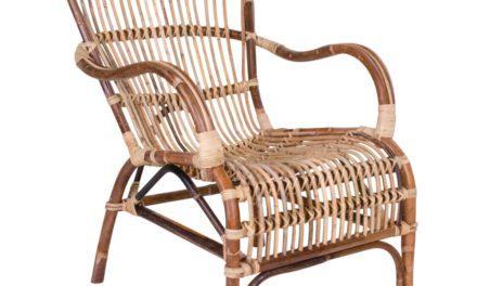 HOUSE NORDIC Celta lænestol i naturligt rattan