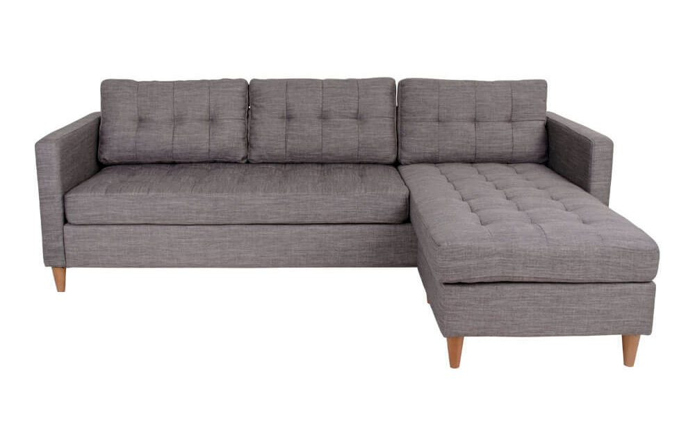 HOUSE NORDIC Marino sofa i lysegråt stof