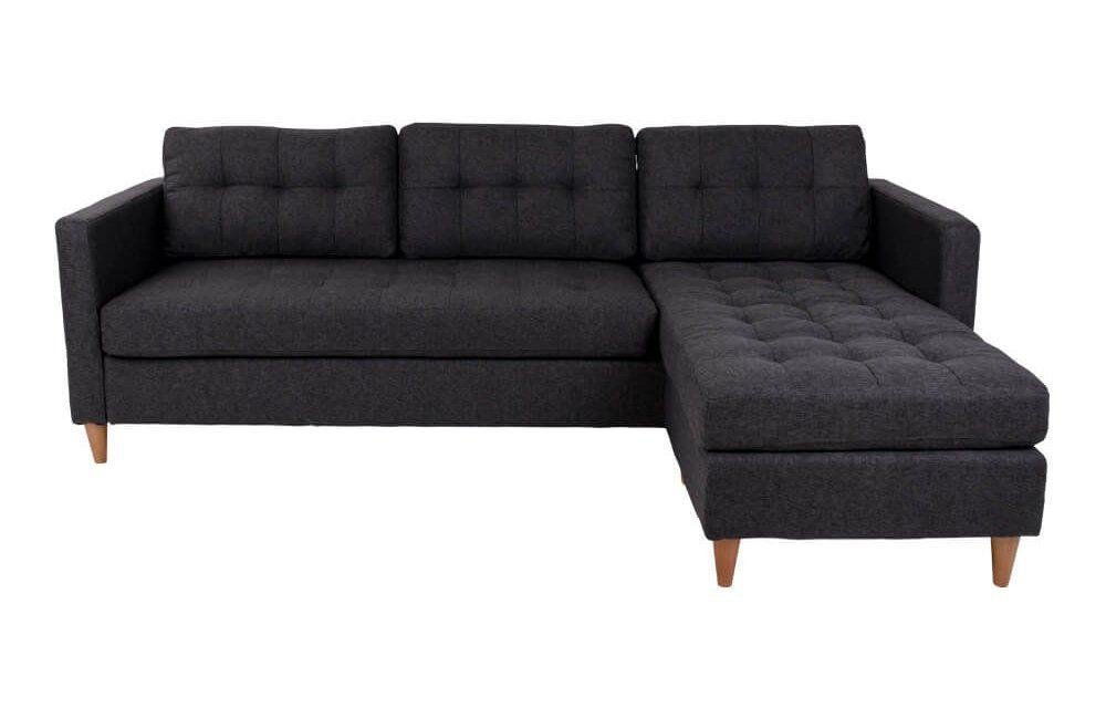 HOUSE NORDIC Marino sofa i mørkegråt stof