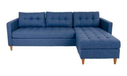HOUSE NORDIC Marino sofa i blåt stof